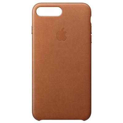 Apple iPhone 8/7 Plus Leather Case Kahve Rengi Cep Telefonu Kılıfı