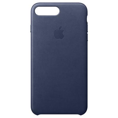Apple iPhone 8-7 Plus Leather Case Gece Mavisi