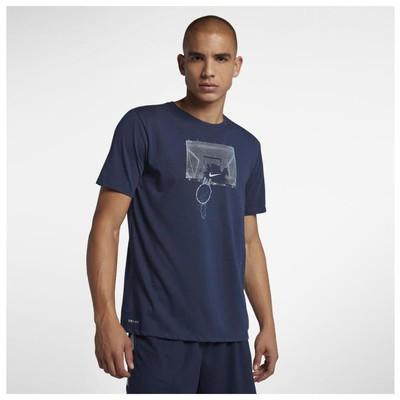 Nike M Nk Dry Tee Df Shatter AJ2785-410