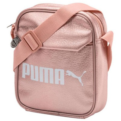 Puma 075004 Campus Portable Pu Peach Beige Çanta 075004-03