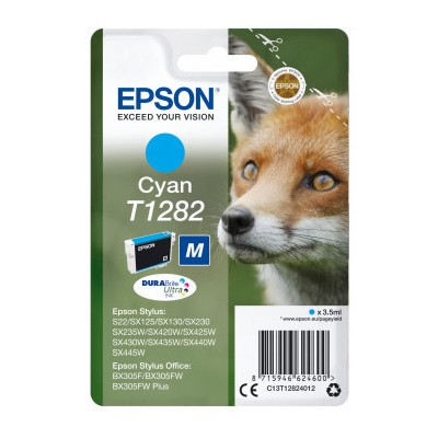 Epson T1282 DURABrite Ultra Mavi Kartuş (C13T12824022)