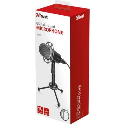Trust 21752 RADI USB MİKROFON Mikrofon