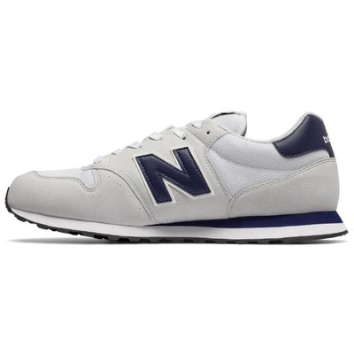 New Balance Nb Lifestyle Mens S, White/Navy, D, 41.5 GM500-OWN