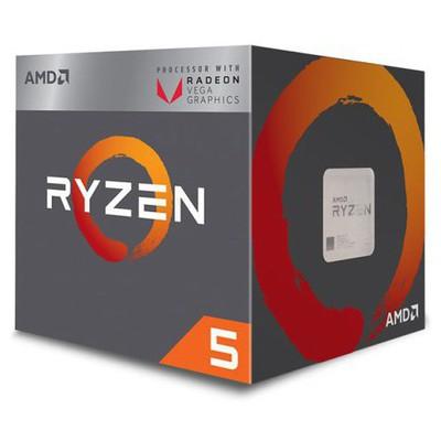 AMD Ryzen 5 2400G Dört Çekirdekli İşlemci