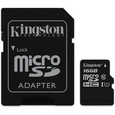Kingston 16GB MicroSD CL10 SDCS/16GB Micro SD Kart