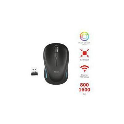 Trust 22333 Yvi Kablosuz Mouse-Siyah