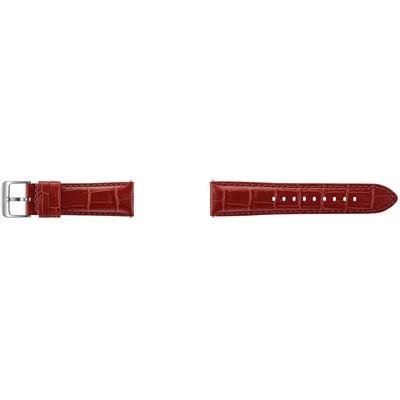Samsung  Kırmızı Timsah Derisi Gear S3 Kayış