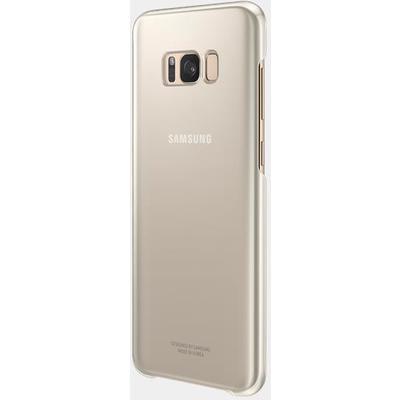 Samsung EF-QG955CFEGWW Gold S8 Plus Şeffaf Kılıf Cep Telefonu Kılıfı