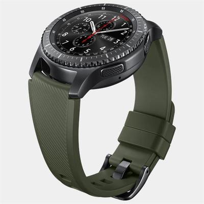 Samsung ET-YSU76MGEGWW Yeşil Silikon Gear S3 Kayış