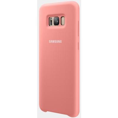 Samsung EF-PG955TPEGWW Pembe S8 Plus Silikon Kılıf Cep Telefonu Kılıfı