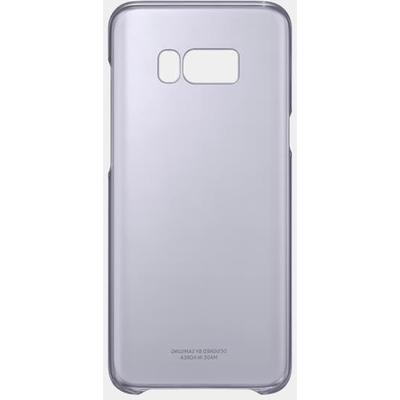 Samsung EF-QG955CVEGWW Mor S8 Plus Şeffaf