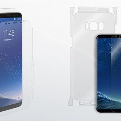Wrapsol Galaxy S8 Full Gövde Koruyucu Film (GP-A310AMCPA)