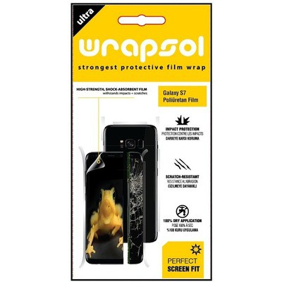Wrapsol  Galaxy S7 Poliüretan Film (GP-A310CMCPAAA)