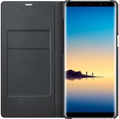 Samsung EF-NN950PBEGWW Note 8 LED Siyah Cep Telefonu Kılıfı