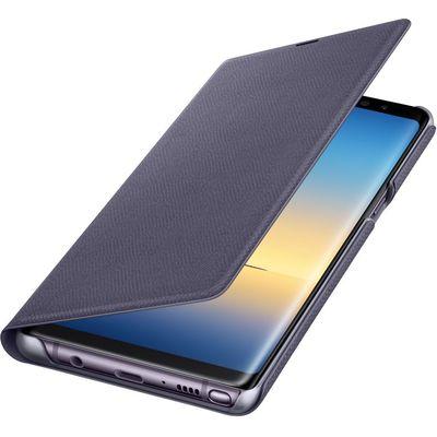 Samsung EF-NN950PVEGWW Note 8 LED Mor Cep Telefonu Kılıfı