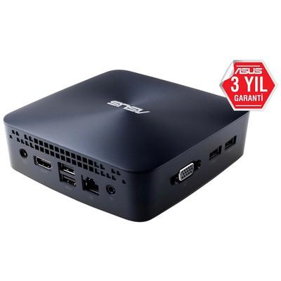 Asus MINIPC UN45H-VM317Z N3160-4G-32G M.M.2 SSD-Win10-(KM YOK)-3YIL-HDMI-VGA-WiFi-BT-VESA
