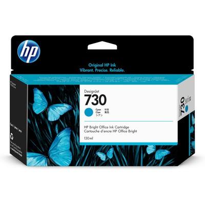 HP P2V62A 730 130-ml Cyan DesignJet 130ml Cam Göbeği mürekkep kartuşu Kartuş