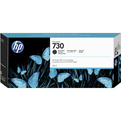HP  DesignJet 730 Mürekkep Kartuşu (P2V71A) - Mat Siyah