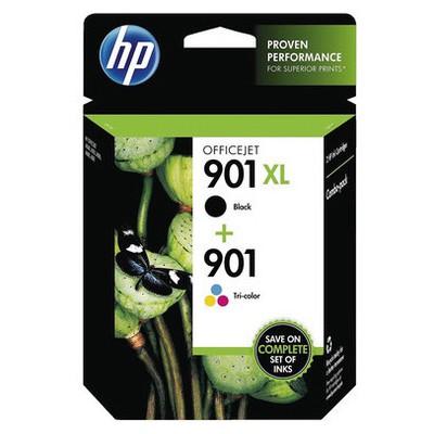 HP SD519AE BK CMY Mürekkep Kartuş (901XL)