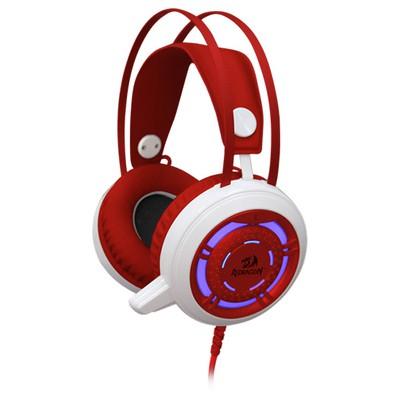 Redragon Sapphire Gaming Headset kırmızı 64206 kablolu/Astarlı tam kafalık kulaklık/2 x 3.5 mm ja Kafa Bantlı Kulaklık