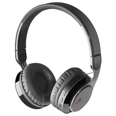 Redragon Sky Headset Siyah 64210 kablosuz bluetoot Astarlı tam kafalık kulaklık-3.5 mm jack micro USB