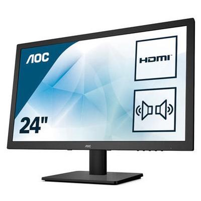 """AOC LED 23.6"""" E2475SWJ D-SUB+DVI+HDMI+HO Monitör"""