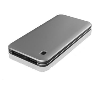 Dexim - Slim 10.000mAh Taşınabilir Şarj Cihazı-Silver