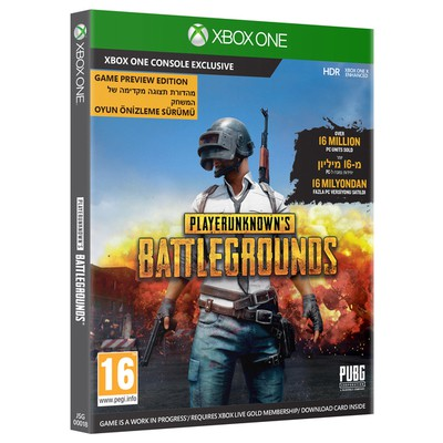 Microsoft XBOX ONE PLAYERUNKNOWNS BATTLEGROUND KUTU OYUN JSG-00018