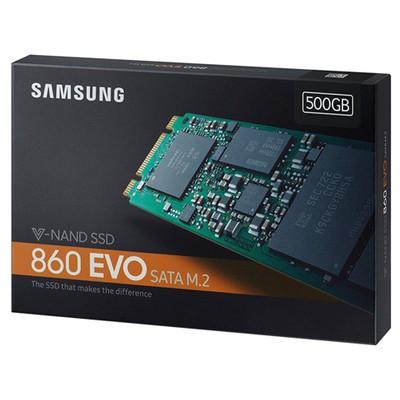 Samsung 500GB 860 Evo M.2 SSD (MZ-N6E500BW)