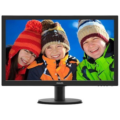"Philips 23.6"" 1ms Full HD Monitör (243V5LHSB5-01)"