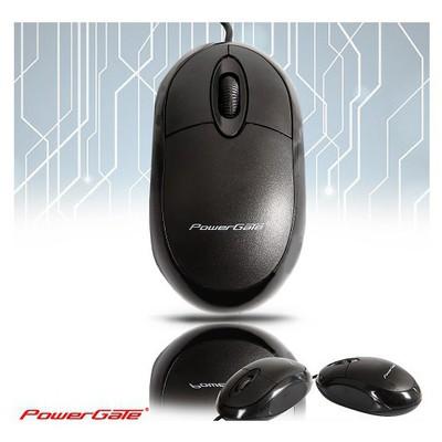 Powergate  , Kablolu USB Siyah Mouse