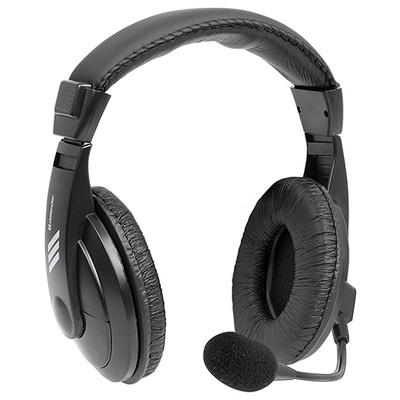 Defender Gryphon 750 Headset Siyah 63750 2 m kablolu-Astarlı kafalık kulaklık-2 x 35 mm jack
