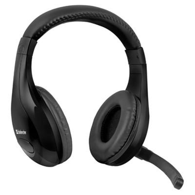 Defender Warhead G-170 Headset Siyah 64114 kablolu-Astarlı kafalık kulaklık-2 x 35 mm jack