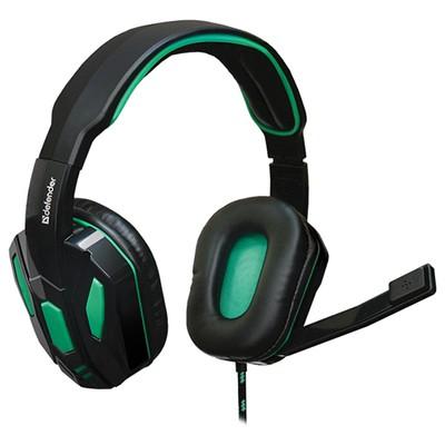 Defender Warhead G-275 Headset Siyah 64122 18 m kablolu-Astarlı kafalık kulaklık-2 x 35 mm jack