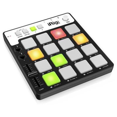 IK Multimedia iRig Pads MIDI Groove Controller (IP-IRIG-PADS-APL)