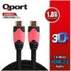 Q-HDMI21 1.8m v2.0 HDMI Kablosu