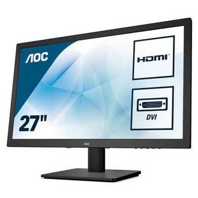 "AOC LED 27"" E2775SJ D-SUB+DVI+HDMI+1MS"