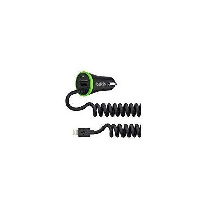 Belkin Ultra-Fast 3.4A USB + Lightning Kablolu Araç Şarjı Cihazı