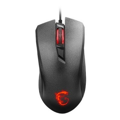 MSI  CLUTCH GM10, GAMING MOUSE 4-level LED Backlight 2400Dpi