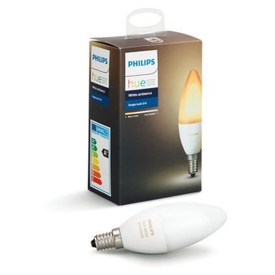 Philips Hue Beyaz Ambiyans Akıllı Ampul E14