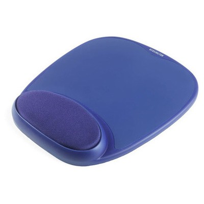 Kensington Entegre Bilek Destekli Memory Jel  Mavi Mouse Pad