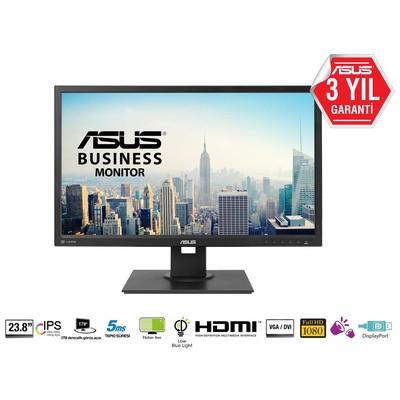 Asus 23.8 PRO BE249QLBH IPS 1920x1080 5ms 3YIL VGA DVI HDMI DP MM VESA EyeCare Pivot 2xUSB MONİTÖR