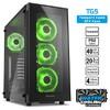 TG5 ATX Yeşil USB3.0 4XLed Fan Kasa