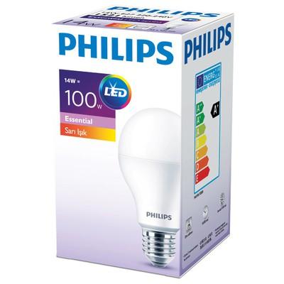 Philips ESS LEDBulb 14-100W Normal Duy Sarı Işık Akıllı Aydınlatma