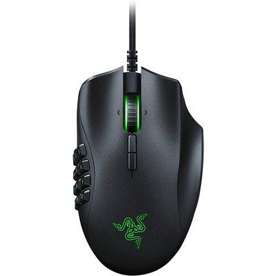 Razer RZ01-02410100-R3M1 Naga TrinityMOBA-MMO16000DPI Kablolu Siyah Gaming Mouse