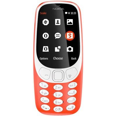 Nokia 3310 2017 Cep Telefonu - Kırmızı