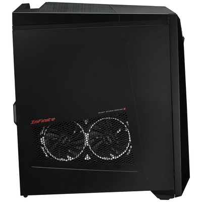 MSI PC INFINITE 8RB-229XTR I7-8700 8GB DDR4 128GB SSD+1TB 7200RPM GTX1050TI GDDR5 4GB DOS SIYAH-SIYAH-SIYAH