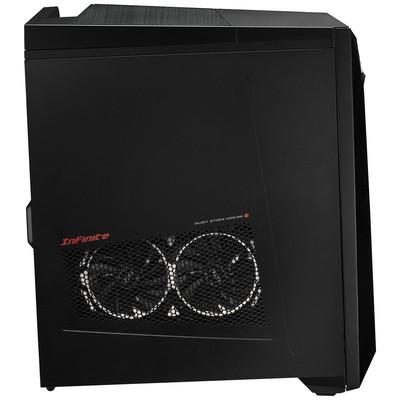 MSI PC INFINITE 8RB-228XTR I5-8400 8GB DDR4 128GB SSD+2TB 7200RPM GTX1050TI GDDR5 4GB DOS SIYAH-SIYAH-SIYAH