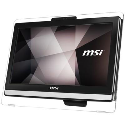 MSI AIO PRO AA8C-102TR-X 19.5 HD+ (1600X900) NON-TOUCH I3-7100 4G 1TB DOS DVD SİYAH-SİYAH-SİYAH