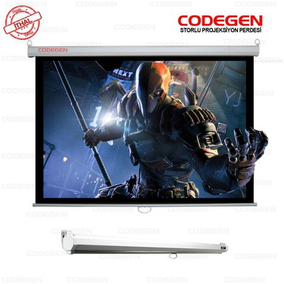 Codegen FAX-30 300x225 Pro Siyah Fonlu Storlu Projeksiyon Perdesi